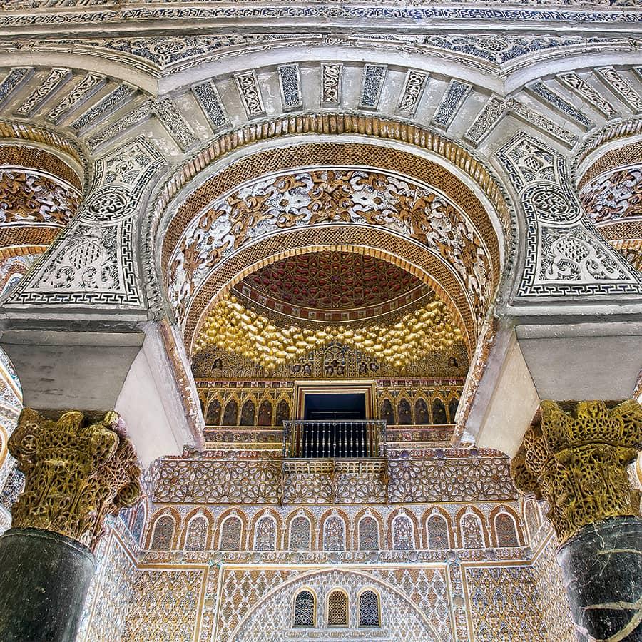 Arcos del Alcázar de Sevilla