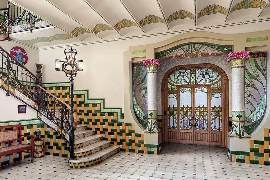 Interior Casa Barbey Barcelona