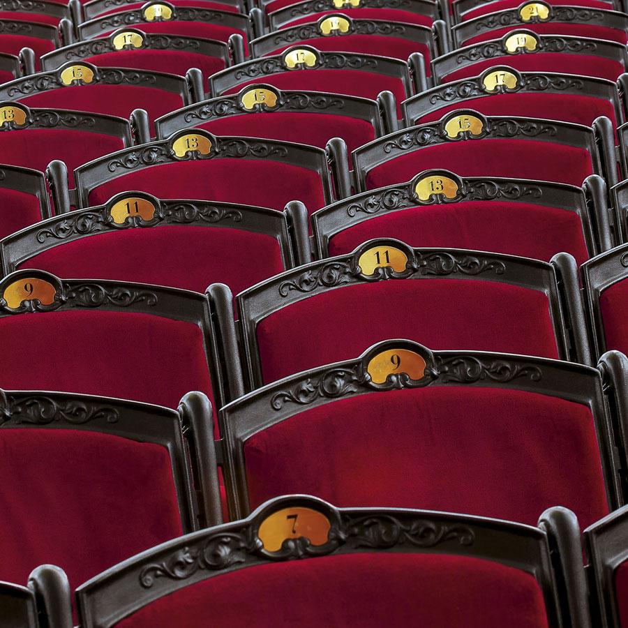 Butacas del Teatro Liceo de Barcelona