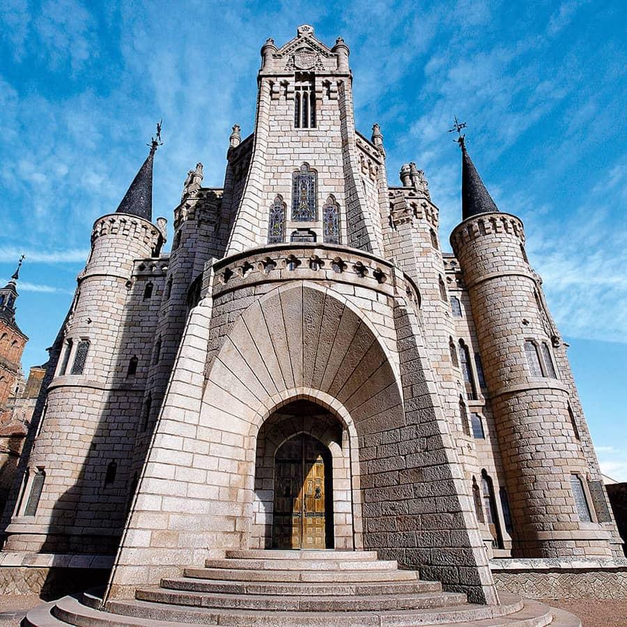 Palacio Episcopal de Astorga, de Antoni Gaudí