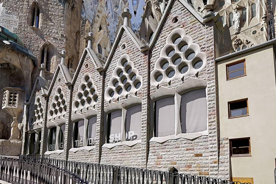 Claustro de la Sagrada Familia de Gaudí