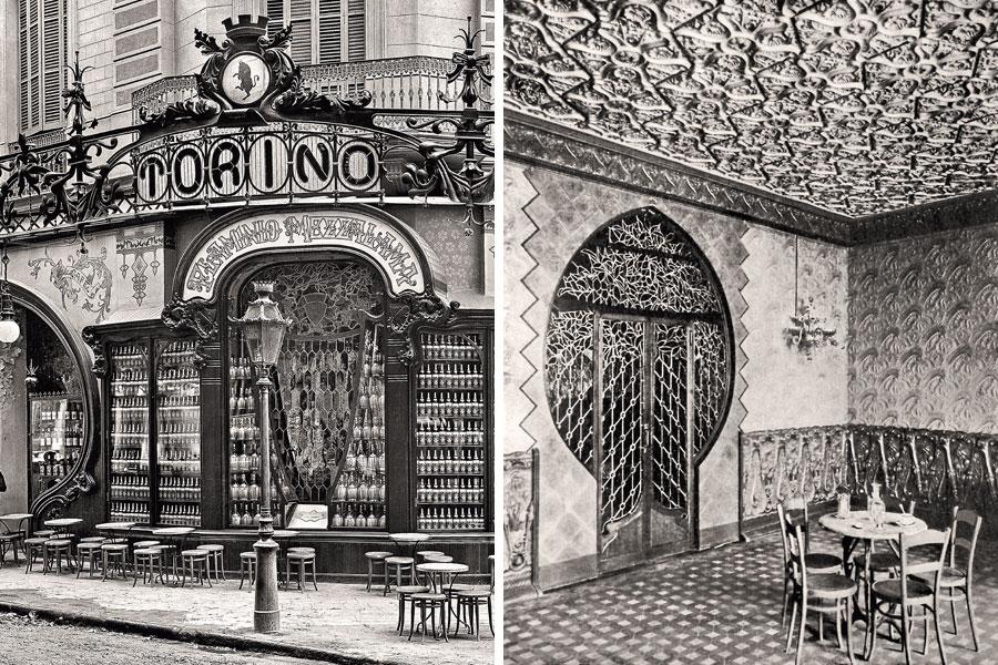 Bar Torino Antoni Gaudi