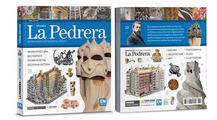 Book of La Pedrera by Antoni Gaudí