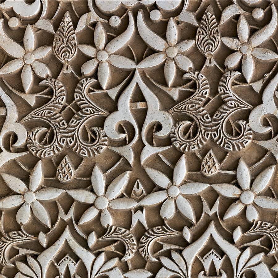 Detalle decoración Alhambra de Granada