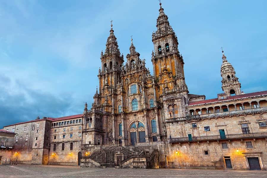 The Obradoiro Façade, Santiago Cathedral