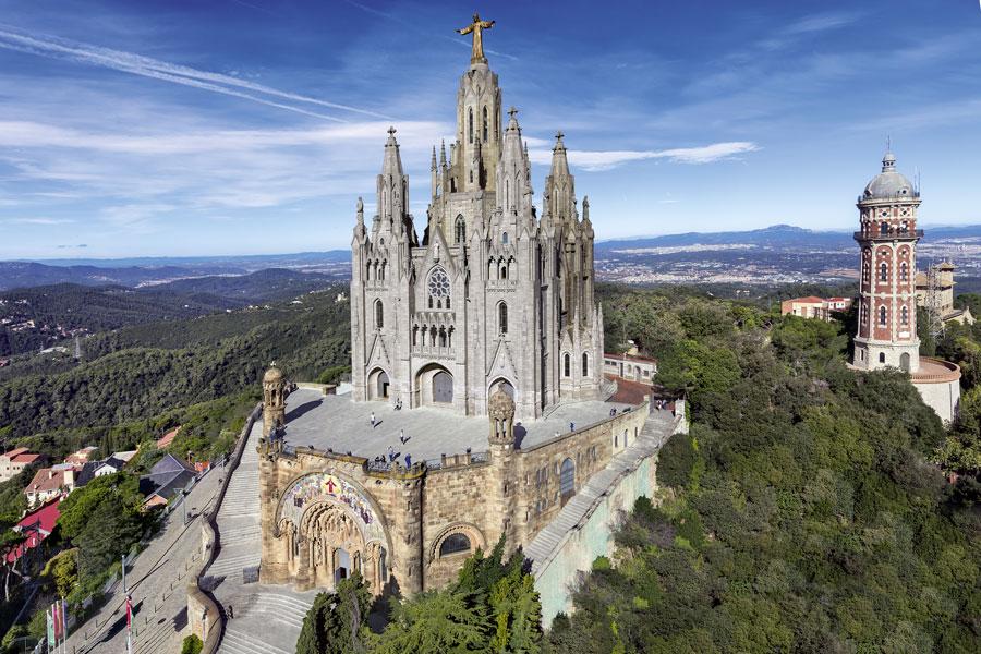 Templo del Sagrada Corazón Tibidabo Barcelona