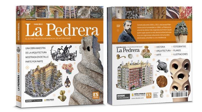 Libro de La Pedrera de Antoni Gaudí