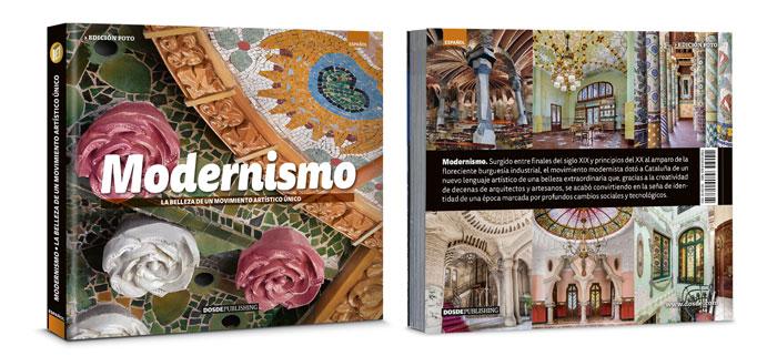Libro sobre modernismo arte y arquitectura Dosde Editorial