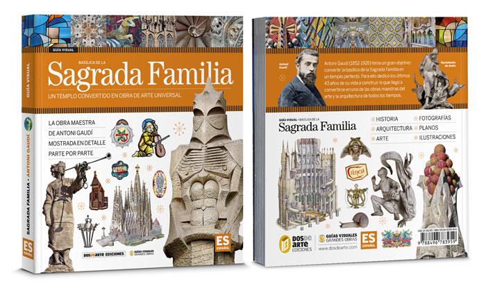 Libro sobre la Sagrada Familia de Gaudí, Dosde Editorial