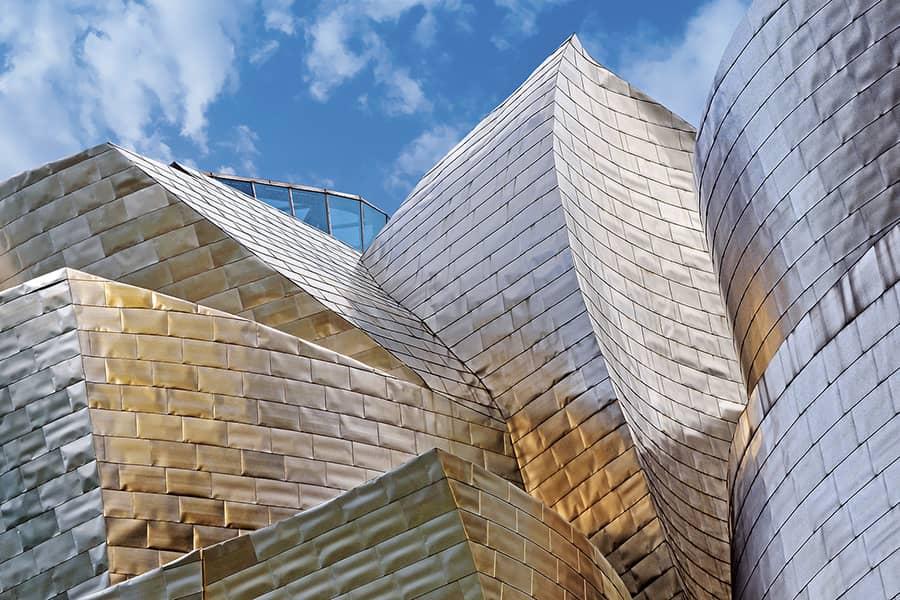 Titanium cover Guggenheim Museum Bilbao Dosde Publishing