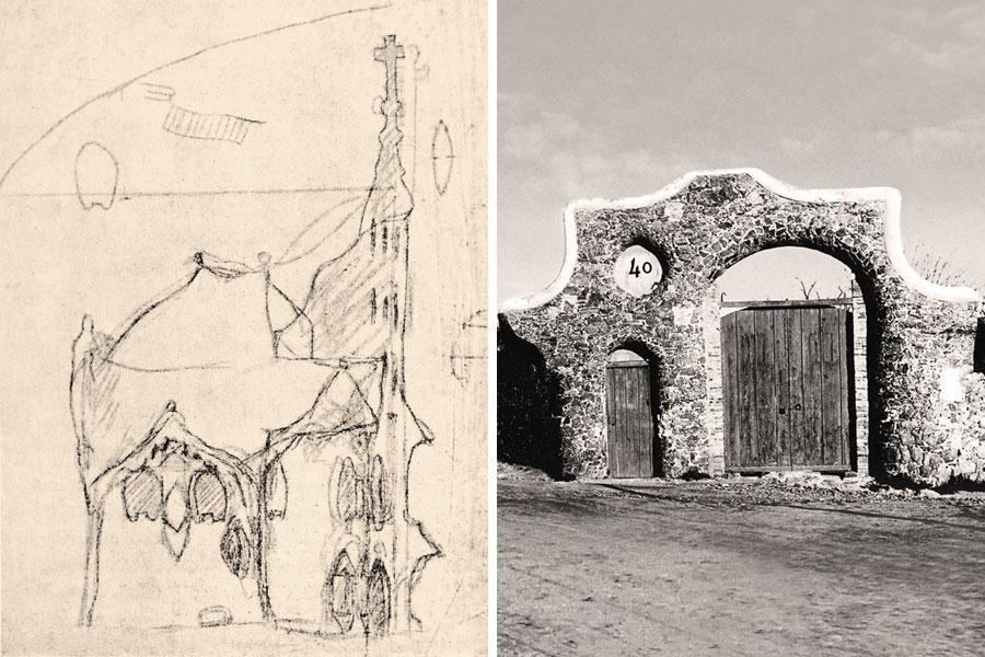 Chalet Graner Antoni Gaudi Dosde Publishing