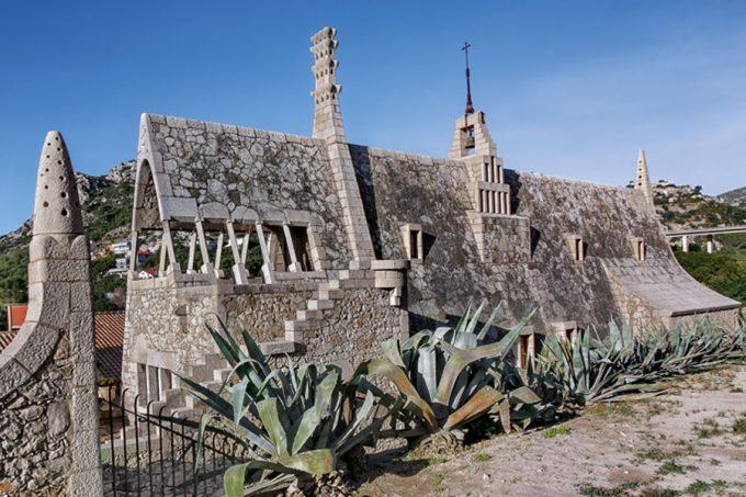 Bodegas Güell de Antoni Gaudí