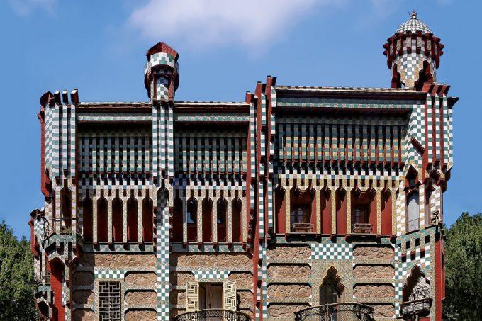 Casa Vicens de Antoni Gaudí, Barcelona