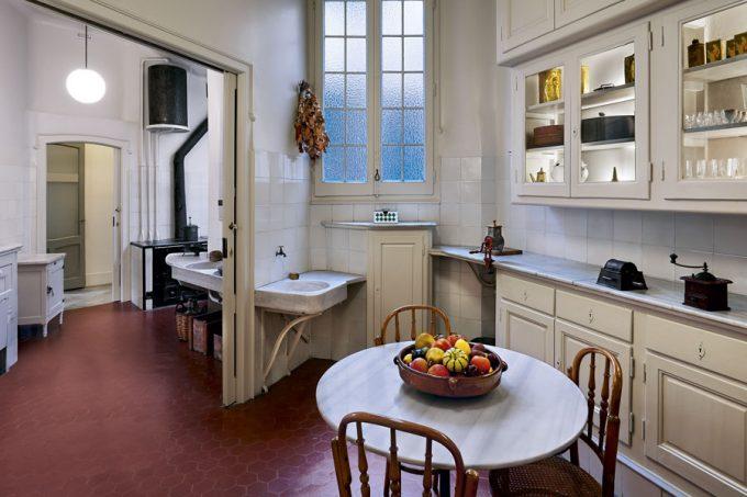 Kitchen of La Pedrera by Antoni Gaudí