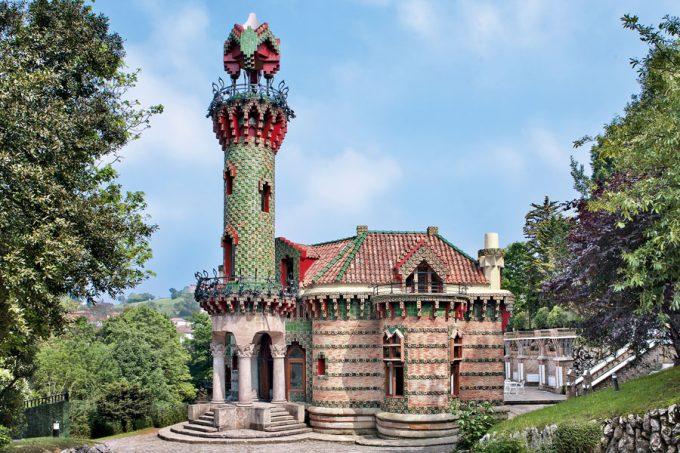 El Capricho de Antoni Gaudí, situado en Comillas