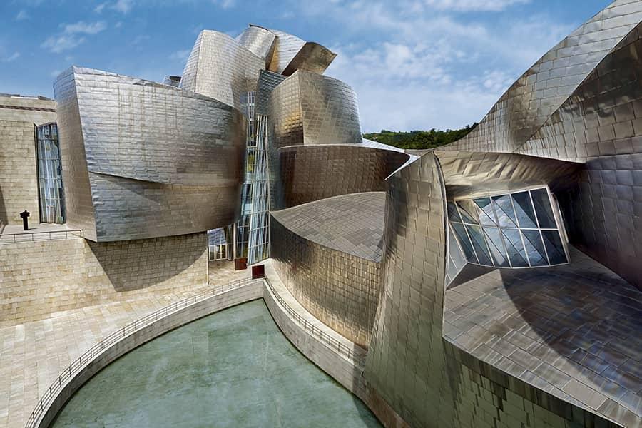 Fachada del Museo Guggenheim Bilbao