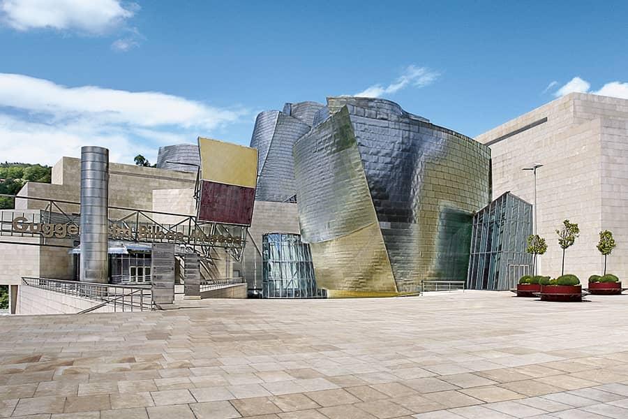 Exterior del Museo Guggenheim Bilbao