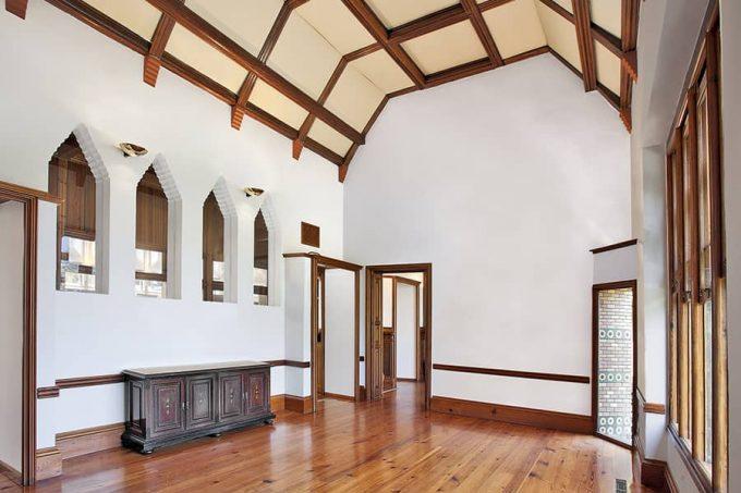 Habitación interior El Capricho Gaudí