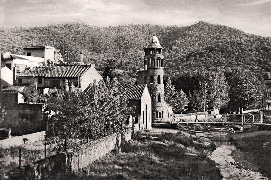 La Miranda, a house by Antoni Gaudí