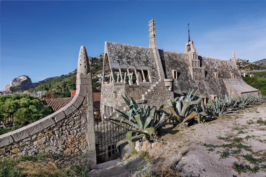 Güell Wine Cellars by Antoni Gaudí