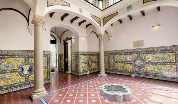 Palacio De Cropani Malaga Dosde Publishing Libro Azulejos Andaluces
