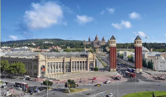 Barcelona Fira Plaza España Dosde Publishing