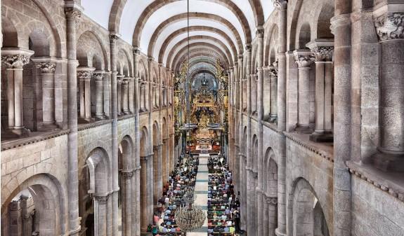 Bovedas Nave Central Catedral De Santiago Compostela Dosde Publishing
