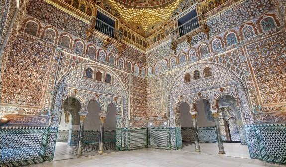 Columnas Sala Embajadores Alcazar De Sevilla Dosde Publishing