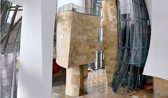 Estructura Interior Museo Guggenheim Bilbao Dosde Publishing