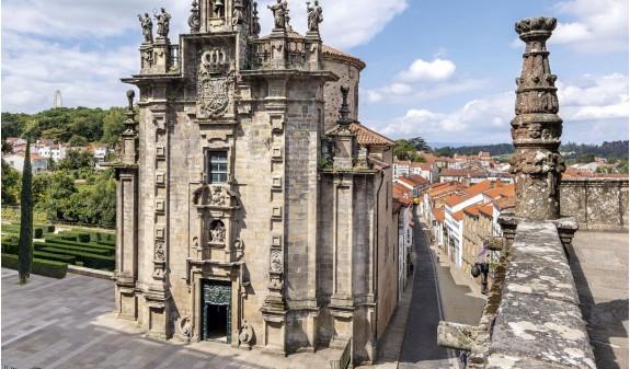 Iglesia San Fructuoso Santiago De Compostela Libro Foto Español Dosde Publishing