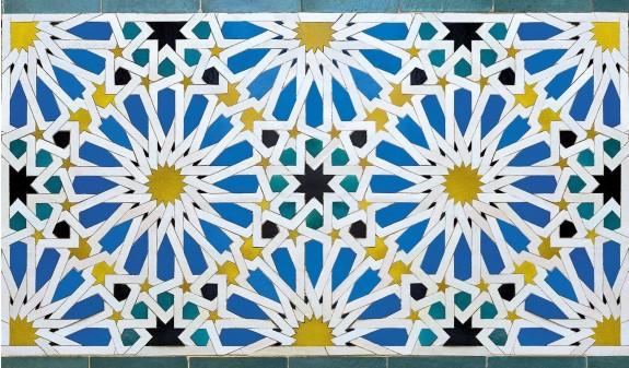 Mosaico Alcazar De Sevilla Dosde Publishing