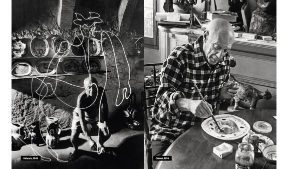 Pablo Picasso Pintando Biografia De Picasso Dosde Publishing