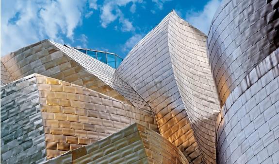 Revestimiento Acero Museo Guggenheim Bilbao Dosde Publishing