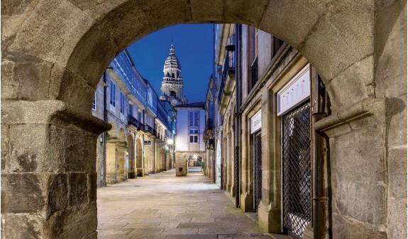 Rua Do Vilar Santiago De Compostela Libro Foto Español Dosde Publishing