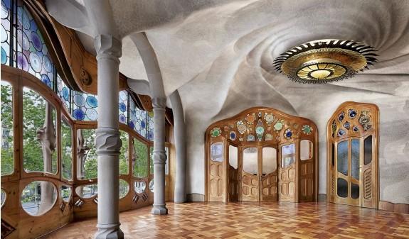 Salon Principal Casa Batllo Gaudi Barcelona Dosde Publishing