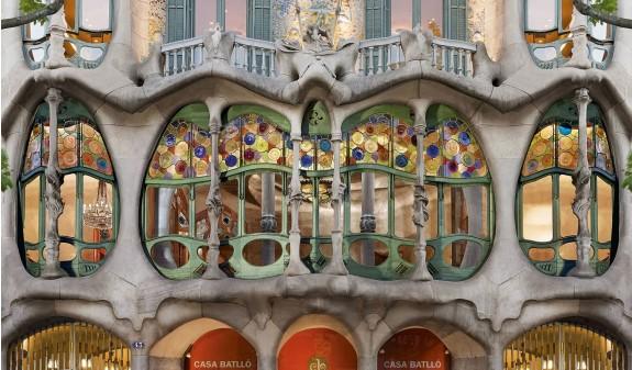 Ventanas Casa Batllo Gaudi Barcelona Dosde Publishing