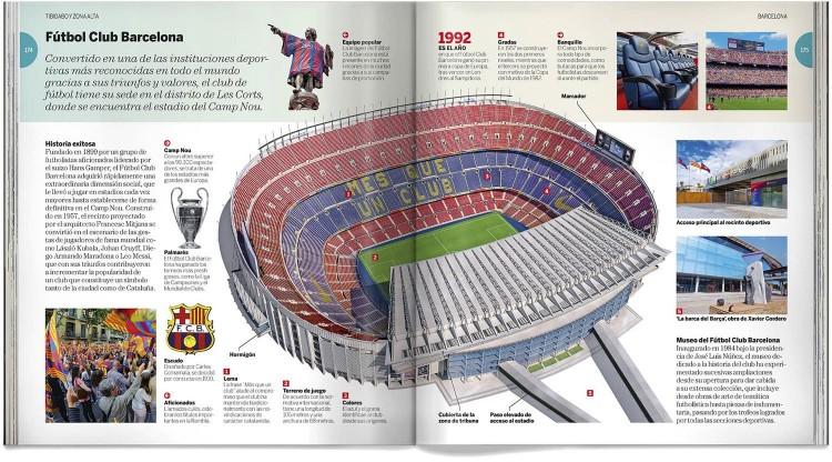 Barcelona Guia Visual Ciudad Libro Español Dosde Publishing