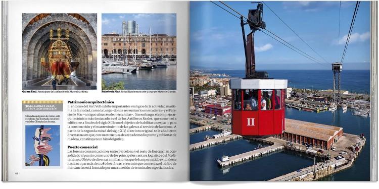 Barcelona Libro Bolsillo Español Guia Ciudad Dosde Publishing