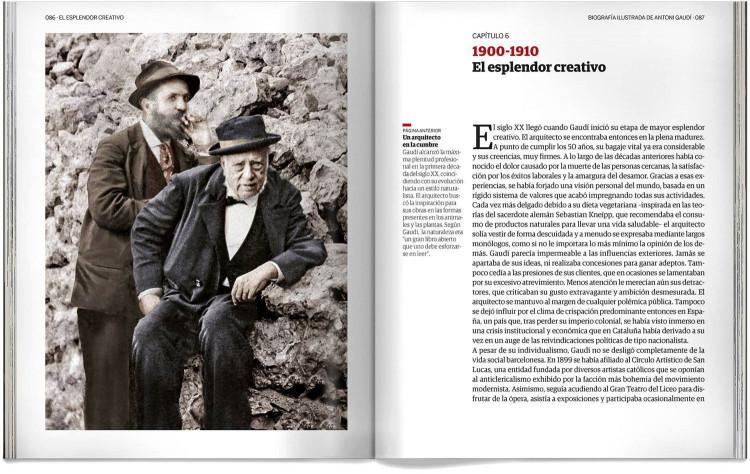 Biografia Antoni Gaudi Libro Español Dosde