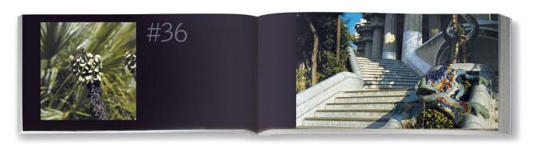 Interior Flipbook Park Guell Gaudi Dosde Publishing