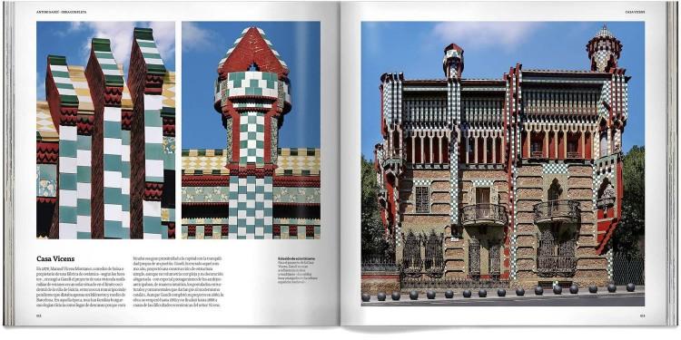 Libro Antoni Gaudi Obra Completa Edicion Deluxe Español Dosde Publishing
