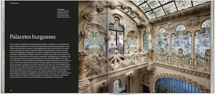 Libro Arte Modernismo Barcelona Español Dosde Publishing