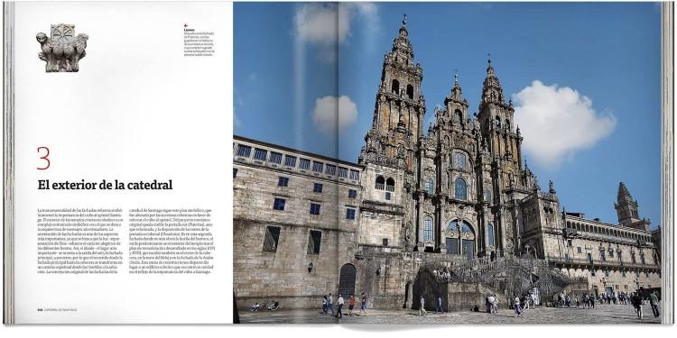 Libro Catedral De Santiago Compostela Deluxe Español Dosde Publishing