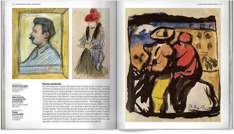 Libro Pablo Picasso En El Museo Obras Arte Dosde Publishing