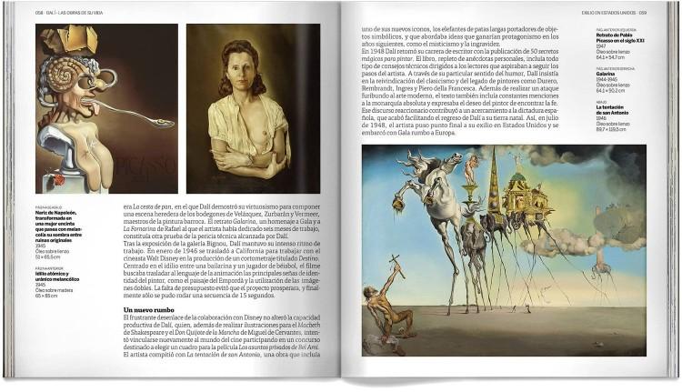Libro Salvador Dali Las Obras De Su Vida Arte Dosde Publishing