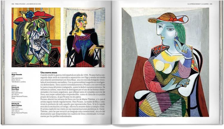 Pablo Picasso Las Obras De Su Vida Libro Arte Dosde Publishing