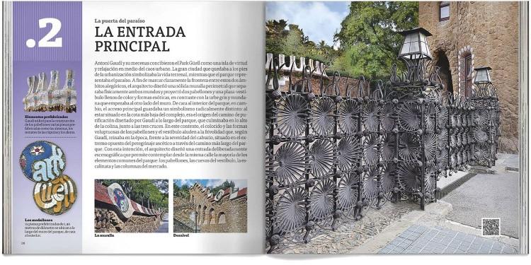 Park Guell Gaudi Libro Bolsillo Español Edicion Pocket Dosde Publishing