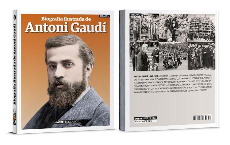 Portada Biografia Antoni Gaudi Libro Español Dosde Publishing