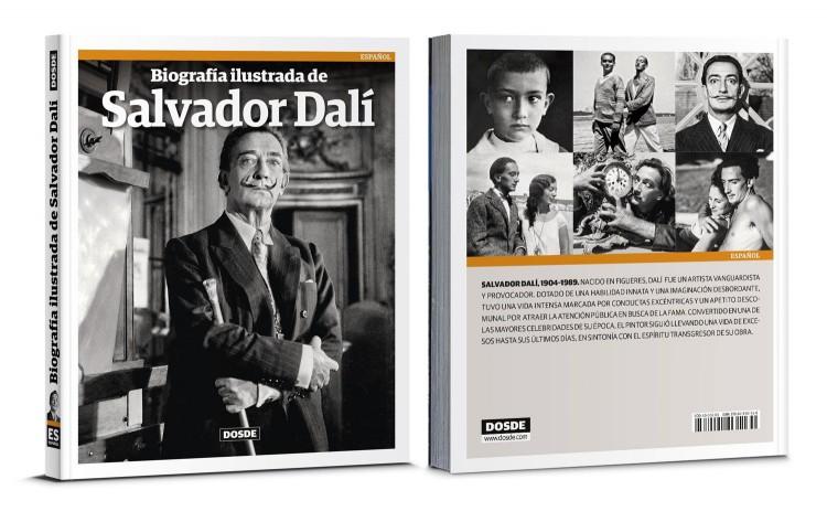 Portada Biografia De Dalí Libro Español Dosde Publishing