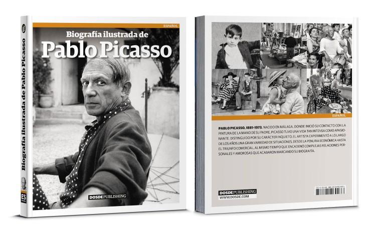 Portada Biografia De Picasso Libro Español Dosde Publishing